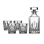 Royal Doulton® Spirit Set: Decanter with 4 Double Old-Fashioned Glasses