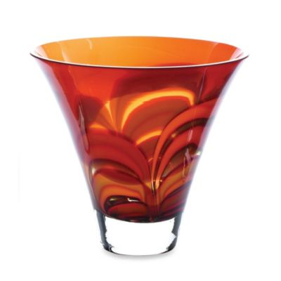 Waterford® Evolution Red/Amber 8-Inch Bowl