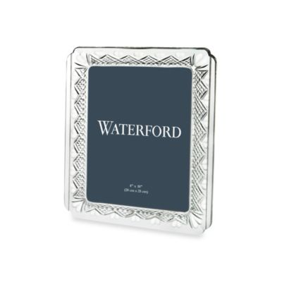 Waterford® Wedding Heirloom 8-Inch x 10-Inch Picture Frame