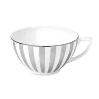 Wedgwood® Jasper Conran Platinum 2.25-Inch Striped Teacup