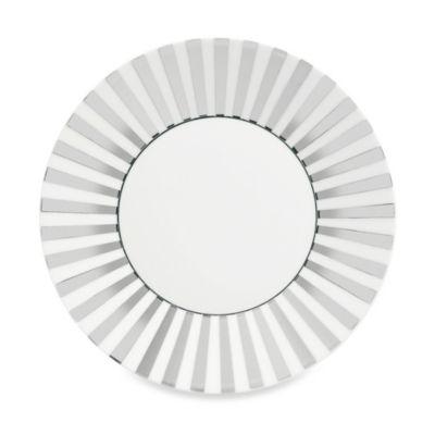 Wedgwood® Jasper Conran Platinum 9-Inch Striped Plate
