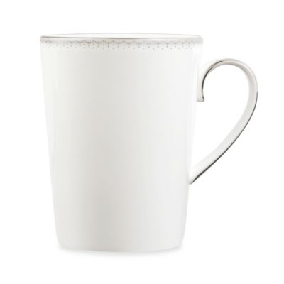 Monique Lhuillier Waterford(R) Dentelle 4.5-Inch 16-Ounce Mug