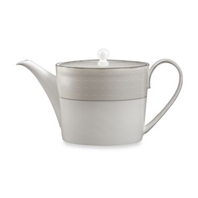 Monique Lhuillier Waterford® Etoile Platinum Teapot