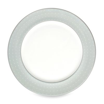 Monique Lhuillier Waterford® Etoile Platinum 12-Inch Charger Plate in Blue