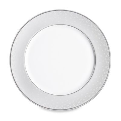Monique Lhuillier Waterford(R) Pointe d'esprit 12-Inch Bows Charger Plate