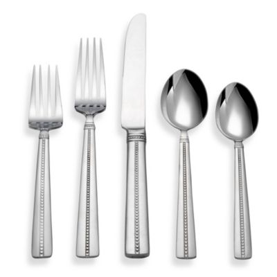 Reed and Barton Green Tea 45-Piece Flatware Set