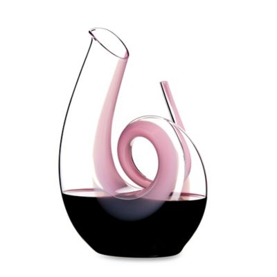 Riedel® Pink 49 3/8-Ounce Curly Decanter