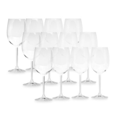 Red Vanilla Sonoma Valley All Purpose Wine Glasses (Set of 12)