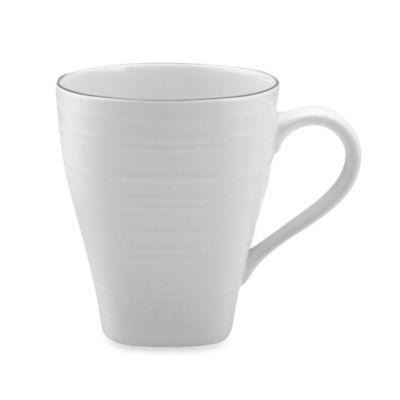 16-Ounce White Square Mug