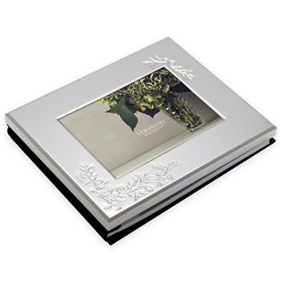 Vera Wang Wedgwood Bouquet 5-Inch x 7-Inch Photo Guest Book
