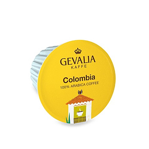 18-Count GEVALIA Colombia Coffee for Single Serve Coffee Makers
