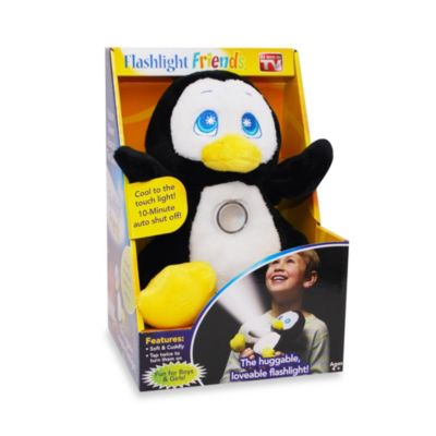 Flashlight Friends™ Black Penguin