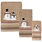 Heartland Snowman Bath Towel
