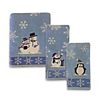 Snowy Friends Fingertip Towel