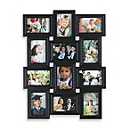 Multiframe 12-Photo Wall Collage in Black