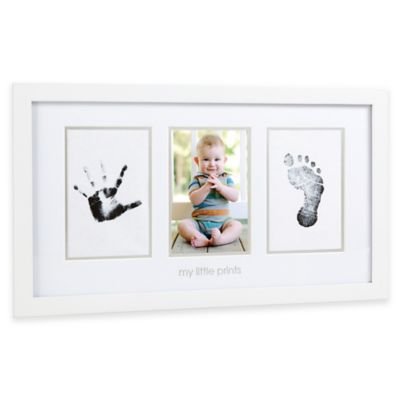 "Pearhead Babyprints ""My Little Prints"" Baby Photo Frame"