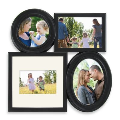 Calbert Four-Photo Collage in Black