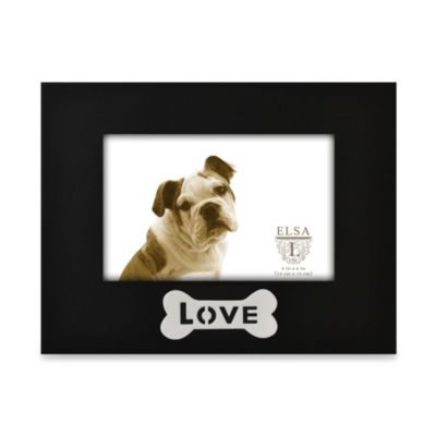 Love Bone Sentiments Frame in Black and White