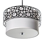 Sharper Image® Pendant Lamp with Tiered Steel Shade