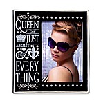 Queen of Everything 4-Inch x 6-Inch Photo Frame