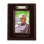 In Loving Memory Ceramic 4-Inch x 6-Inch Photo Frame