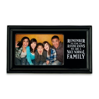"""Nice Normal Family"" Frame"