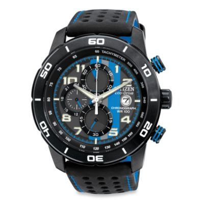 Blue and Black Men's Watches