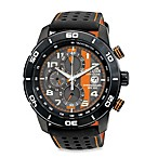 Citizen Men's Eco-Drive Primo Chronograph w/Soft Strap Watch