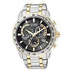 Citizen Men's Eco-Drive Perpetual Chrono A-T Two-Tone Stainless Bracelet Watch