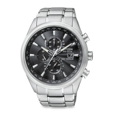 Citizen Men's Eco-Drive World Chronograph A-T Watch