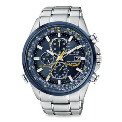 Citizen Men's Eco-Drive Blue Angels World Chronograph A-T
