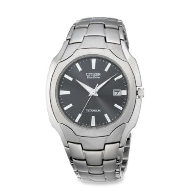 Citizen Men's Eco-Drive Titanium Bracelet Watch