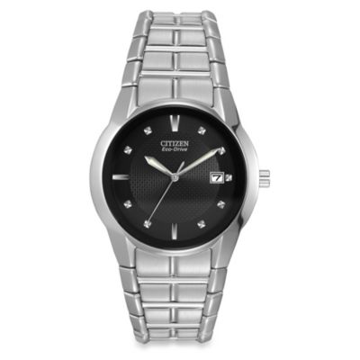 Citizen Men's Eco-Drive Stainless-Steel Bracelet Watch