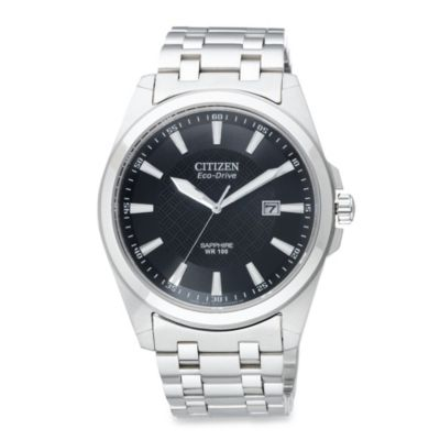 Citizen Men's Eco-Drive Corso Stainless Steel Watch