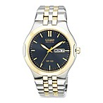 Citizen Men's Eco-Drive Corso Two Tone Stainless Bracelet Watch