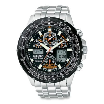 Citizen Men's Eco-Drive Skyhawk A-T Atomic Stainless Bracelet Watch