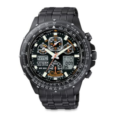 Citizen Men's Eco-Drive Skyhawk A-T Stainless Watch