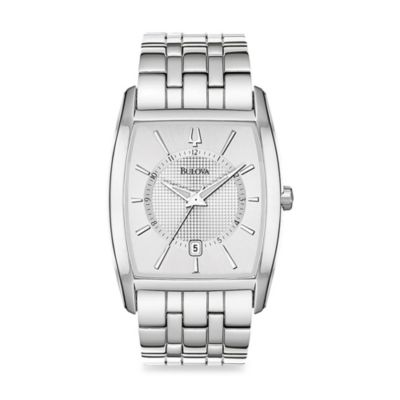 Bulova Men's Dress Collection Silver Watch