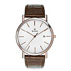 Bulova Men's Calendar Strap Watch