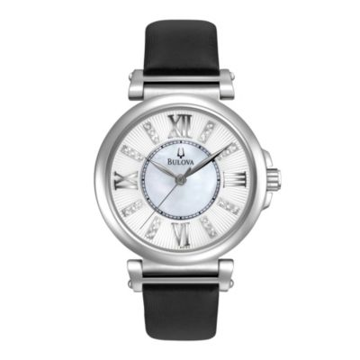 Bulova Diamond Collection Women's Strap Watch