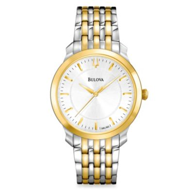 Bulova Classic Women's Two-Tone Bracelet Watch