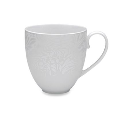 Denby Monsoon Lucille Silver 10.5-Ounce Large Mug