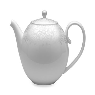 Denby Monsoon Lucille Silver 42.3-Ounce Teapot