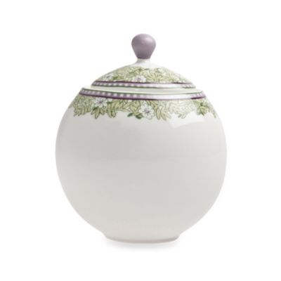 Denby Daisy 11-Ounce Covered Sugar Bowl