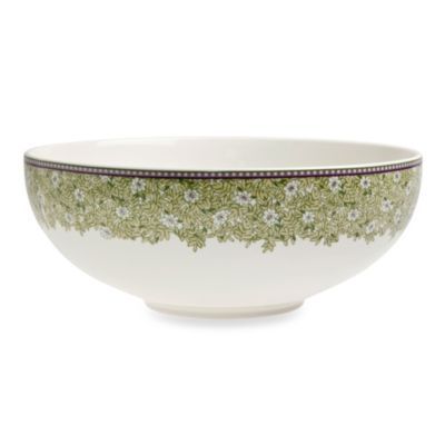 Denby Daisy 67.6-Ounce Medium Serving Bowl