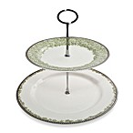 Denby Daisy Two-Tiered Cake Stand