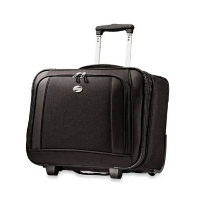 American Tourister iLite Wheeled 13-Inch Boarding Bag in Black