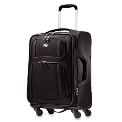 American Tourister iLite 21-Inch Carry-On Spinner in Black