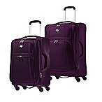 American Tourister iLite Luggage Collection in Purple