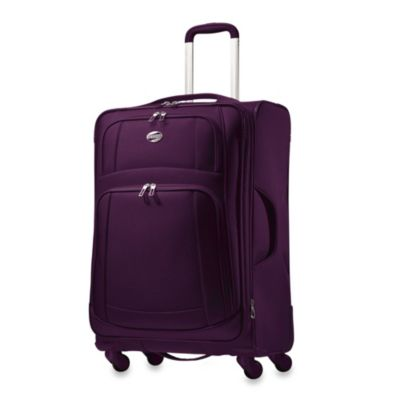 American Tourister iLite 25-Inch Spinner in Purple
